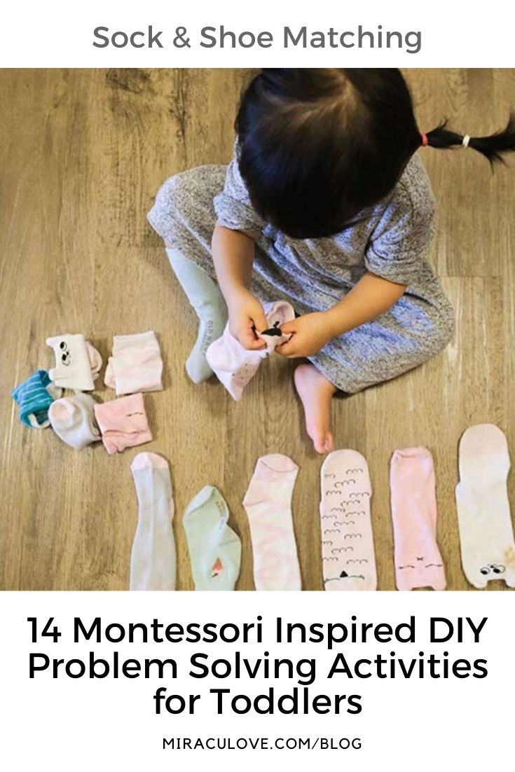 14 Montessori Inspired DIY Problem Solving Activities for Toddlers